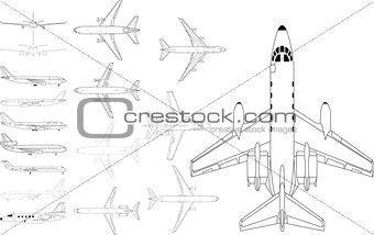 Civil airplanes