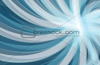 Abstract blue background, wave