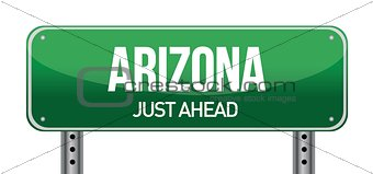 Arizona Road Sign