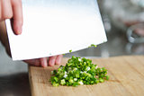 Cutting Scallion