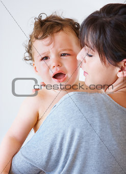 Consoling baby