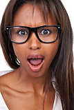 Shocked with spectacles!