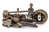 Worn out auto parts