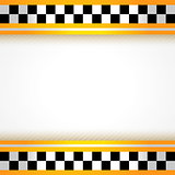 Taxi background square
