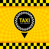 Taxi symbol, new background, vector illustration 10eps