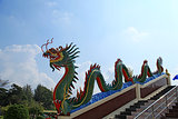 Dragon on the stairway