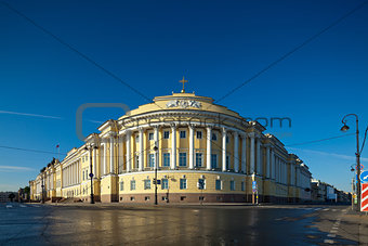 Senate and Synod building in St. Petersburg