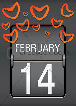 valentine day scoreboard