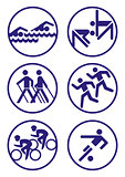 Sport badges