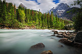 Kicking Horse river