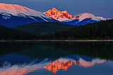 Alpineglow sunrise