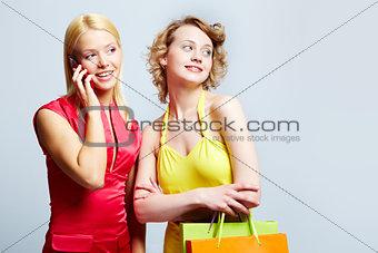 Elegant customers