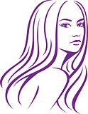 girl fashion hair