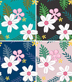 seamless flower pattern design