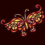 colorful butterfly vector illustration for your design