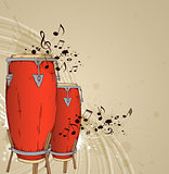 Red drums