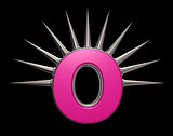 prickles letter o
