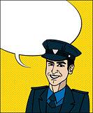 Pop Art cop