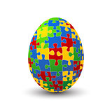 Puzzle egg