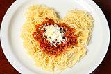 Spaghetti Heart