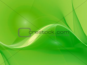 cool green curves