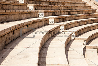 Roman Theater At Caesaria