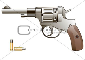 vector revolver with bullets