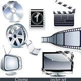 Vector cinema icons