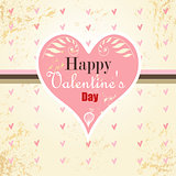 background with hearts for Valentine&#39;s day