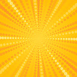 Yellow Halftone Star