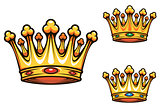 Royal king crown