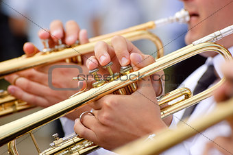 Trumpet theme