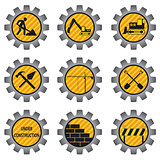 Construction icons.