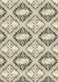 Delicate checkered seamless background with beige shades