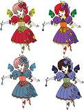 Fairy Cartoon Set