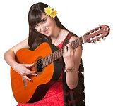 Pretty Guitar Player