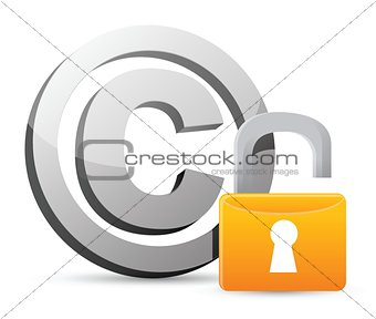 copyright – bad security protection