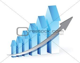 blue Arrows graph