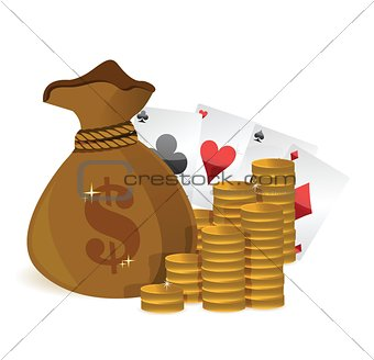 money bags casino profits