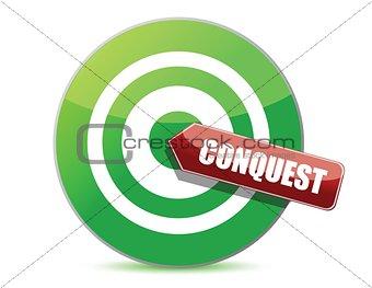green conquest darts target aim