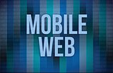 Mobile Web sep concept
