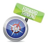 Forward Thinking compass