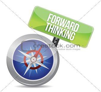 Forward Thinking compass