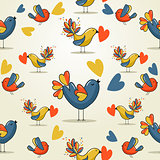 Love bird pattern