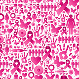 Breast cancer awareness pattern