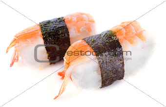 shrimps shushi