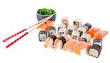 sushi and algae