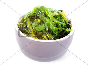 bowl of algae