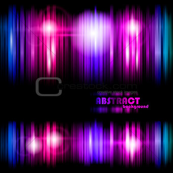 Colorful strips abstract background eps10 vector illustration