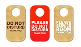 Do Not Disturb Sign Set